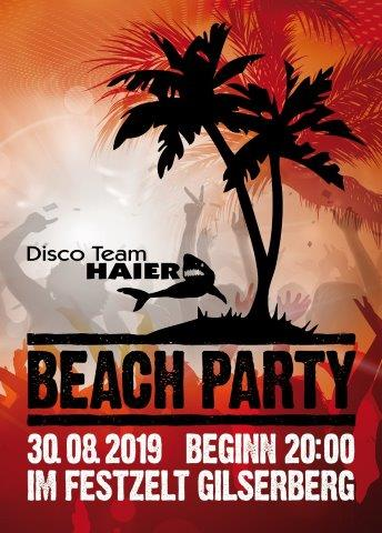 2. Titelseite plakat beachparty A6