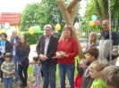 120 Hochlandstrolche feiern ihr neues Außengelände