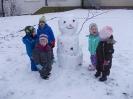 Schneeflöckchen, Weißröckchen – endlich kamst du geschneit  !!!
